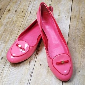 Tory Burch Dakota Flats in Rose Petal
